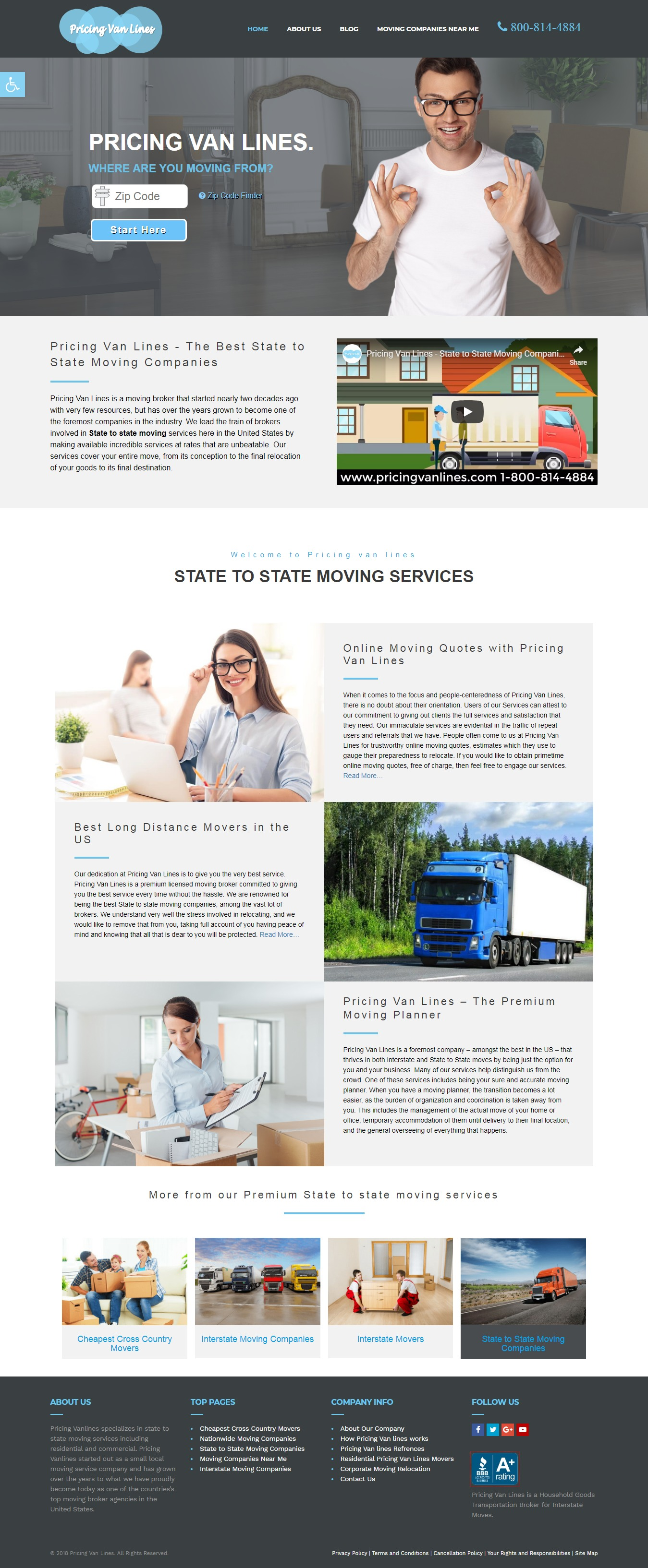Pricing Van Lines Local SEO Services